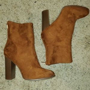 Chestnut Ankle Boots